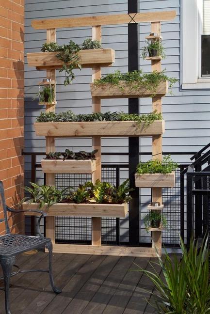 Mur végétal petits espaces