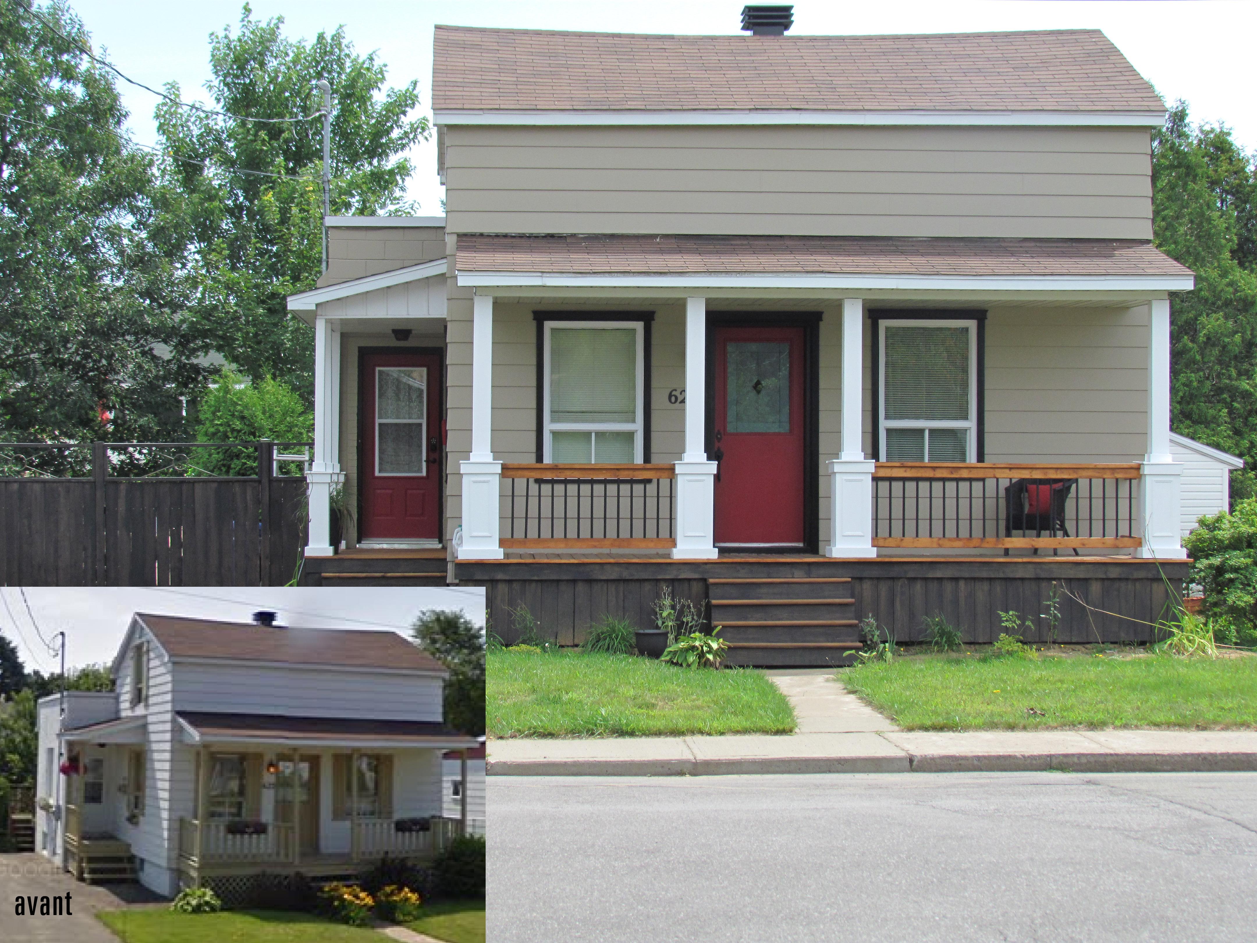 Relooking Maison Avant Apres 7 trucs pour transformer sa façade de maison - expo habitat