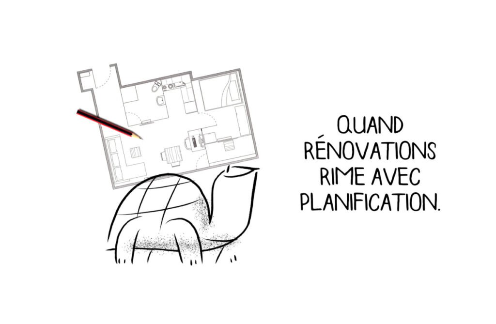 Quand rénovations rime avec planification